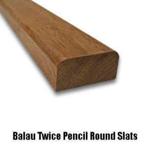 balau twice pencil round