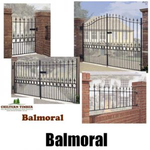 Balmoral Premium Spear Top Metal Gates & Railings