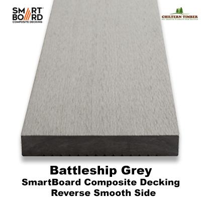 Smartboard battleship grey composite deck board for 6 metre lengths of decking