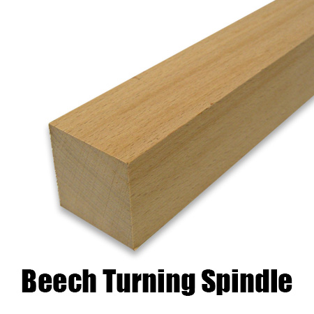 beech turning spindle