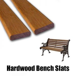 Hardwood Replacement Bench Slats