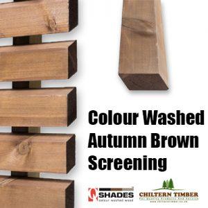 brown screen