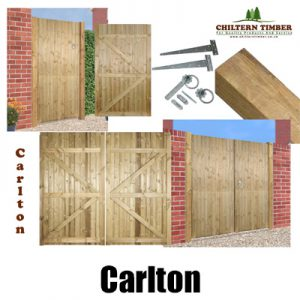 Carlton Square Top Gates, Posts & Fittings