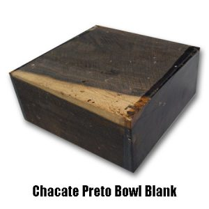 chacate preto bowl blank