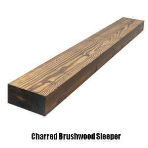 charred brushed sleeper