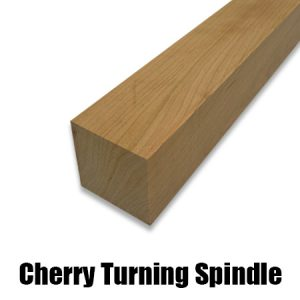 cherry turning spindle