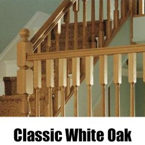 Richard Burbidge Classic White Oak Stairparts