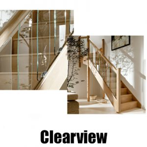 Cheshire Mouldings Clearview Stairparts