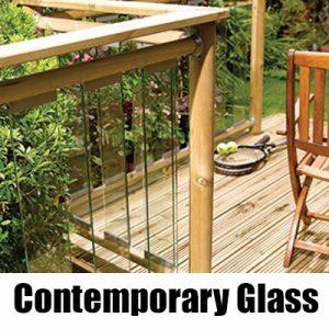 Richard Burbidge Contemporary Glass Panel System