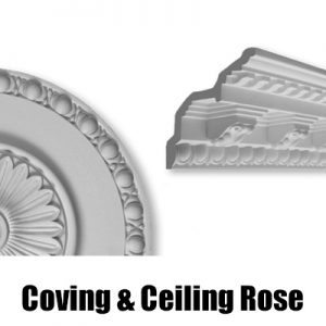 Coving, Cornice, Ceiling Rose & Column Suppliers