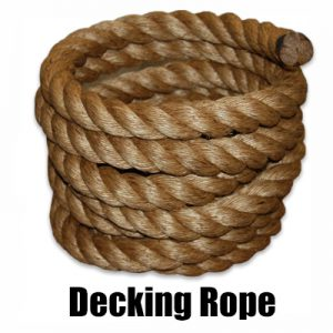 Decking Rope Suppliers