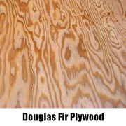douglas fir plywood close up
