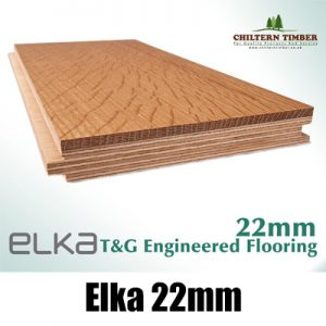Elka 22mm Real Wood Hardwood Engineered T&G Flooring