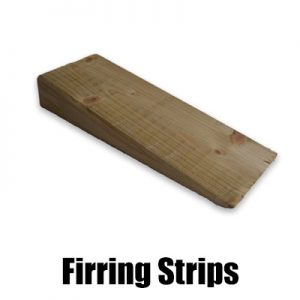 Firring Strips for Flat Roofs