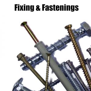 Fixings & Fastenings (inc. Nails, Screws & Bolts)