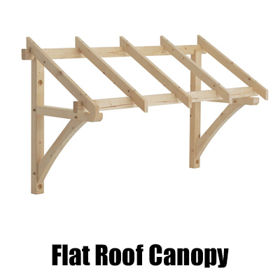 flat roof canopy new web  sc 1 st  Chiltern Timber & Porch Kit u2013 Flat Roof Porch Canopy 1200mm | Chiltern Timber