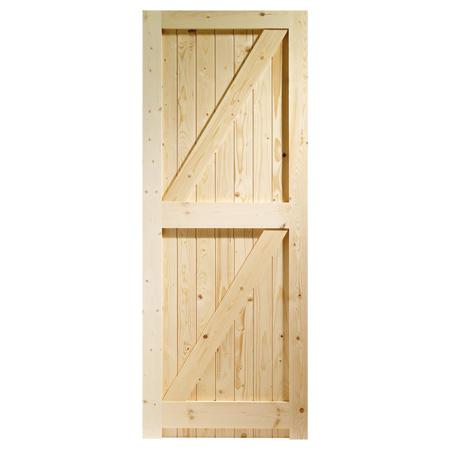 promo code 6bad4 9112b External Door – Pine Framed Ledged & Braced