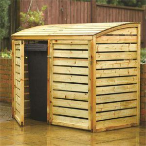 Garden Storage Buildings inc. wheelie bin stores