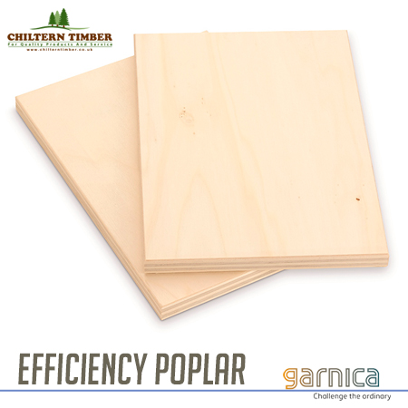 Plywood – Garnica Efficiency Poplar Marine Ply 2440 x 1220mm x Various  Thickness