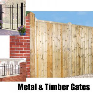 Metal & Wooden Gates, Fencing & Railings