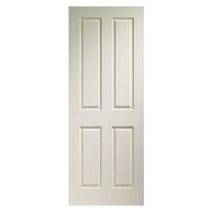 Internal Door \u2013 Moulded 4 Panel Grained  sc 1 st  Chiltern Timber & Internal Door \u2013 Hardboard Unlipped Primed | Chiltern Timber