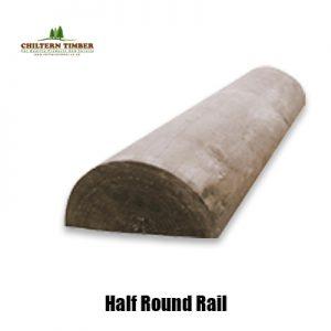 half round rail
