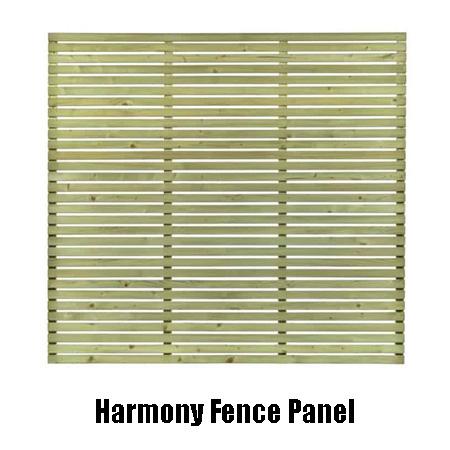 harmony fence panel 11664