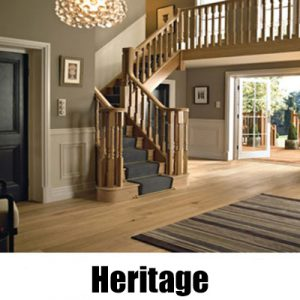 Richard Burbidge Heritage White Oak Stairparts