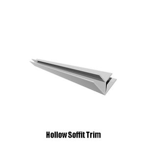 hollow soffit trim