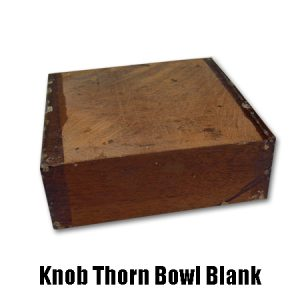 knob thorn bowl blank