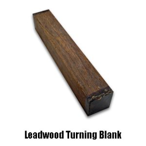 leadwood turning blank