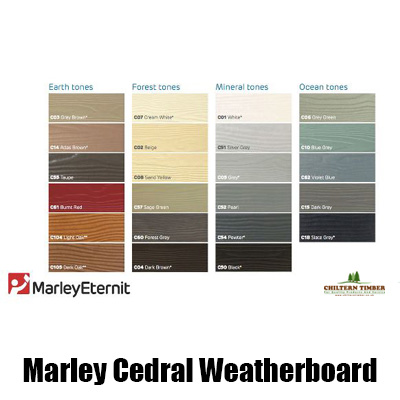Fibre Cement Wood Effect Marley Cedral Weatherboard