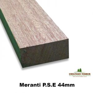 Meranti Planed Square Edge Pse 94mm Thick Various Widths