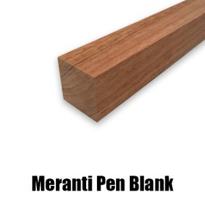 meranti pen blank