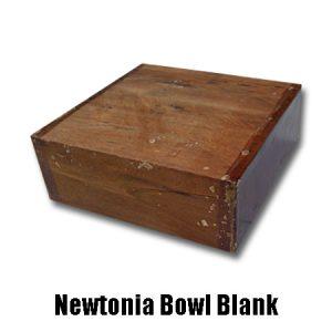 newtonia bowl blank