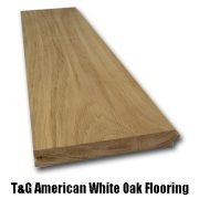 oak T&G flooring