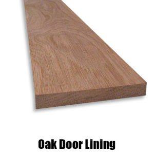 oak door lining