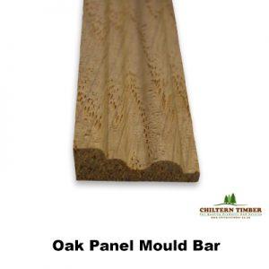 oak panel bar