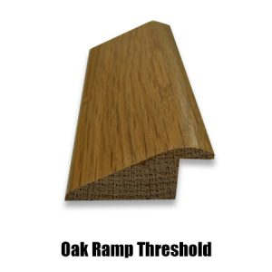 oak ramp threshold