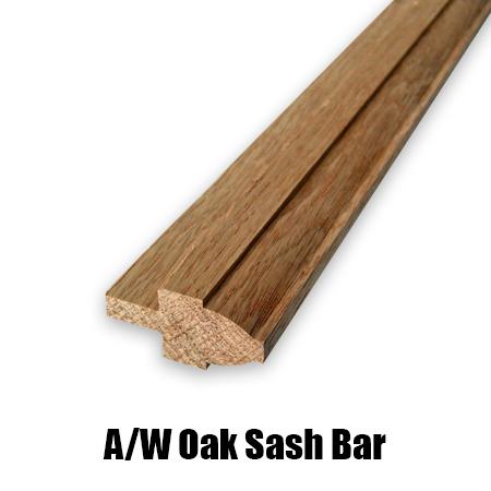 oak sash bar