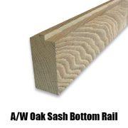 oak sash bottom rail2