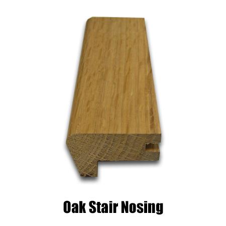 oak stair nosing