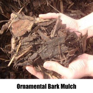 oranamental bark mulch