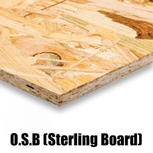 OSB Orientated Strand Board (Sterling Board) Suppliers