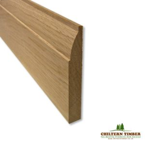 ovolo oak skirting