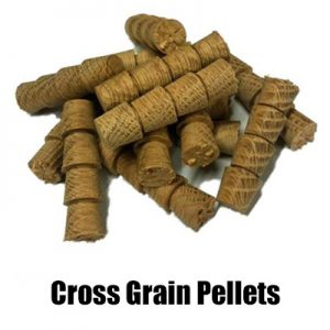 Oak & Hardwood Cross grain Pellets Suppliers