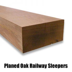 planed oak sleeper new web