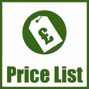 Chiltern Timber Price Lists