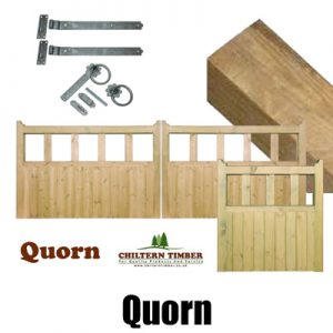 Quorn Wooden Gates, Posts & Fittings