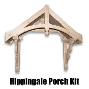 Porch Kit u2013 Rippingale Canopy 1090mm  sc 1 st  Chiltern Timber & Porch Kit Suppliers | Chiltern Timber